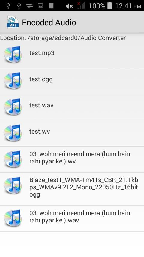 WAV Audio Converter for Android - APK Download