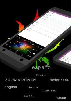 GO Keyboard Neon Reggae Rasta screenshot 1