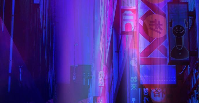 Neon Wallpaper poster