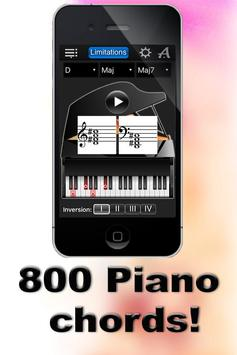Piano Chords Compass Lite poster
