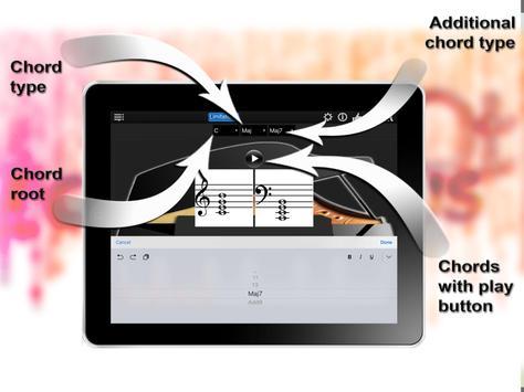 Piano Chords Compass Lite screenshot 7