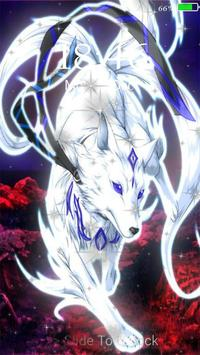 neon wolf live wallpaper lock screen para android apk baixar