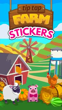 Tip Tap Farm Stickers poster