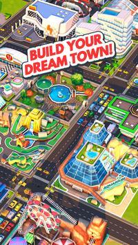 Traffic Panic Boom Town Poster