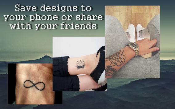 Hipster tattoo apk screenshot