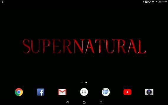 LW Saison 4 Supernatural poster