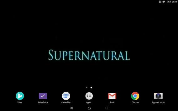 LW Saison 5 Supernatural poster
