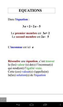 Pocket Math 3ème screenshot 12