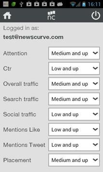 Newscurve apk screenshot