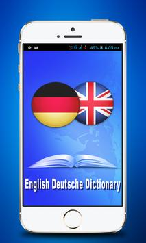 English - Deutsche Dictionary poster