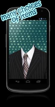 Man Suits Z Camera Photo Studio apk screenshot