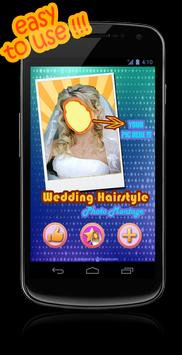 Bridal Hairstyle Photo Maker poster