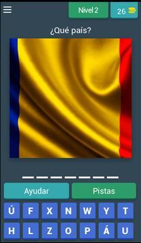 Adivina el país en la bandera apk screenshot