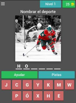 Adivina los deportes apk screenshot