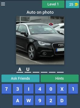Угадай! Немецкое авто apk screenshot