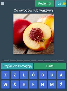 Zgadnij! Owoce i warzywa apk screenshot