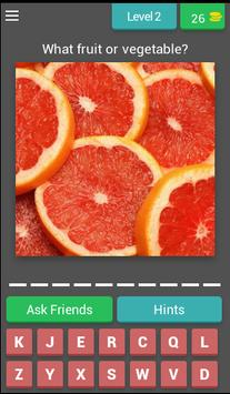 Guess! Fruits and vegetables screenshot 2