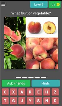 Guess! Fruits and vegetables screenshot 3