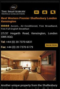 Shaftesbury Hotels Group apk screenshot