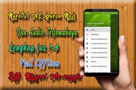 AL Quran Dan Terjemahan MP3 Offline poster