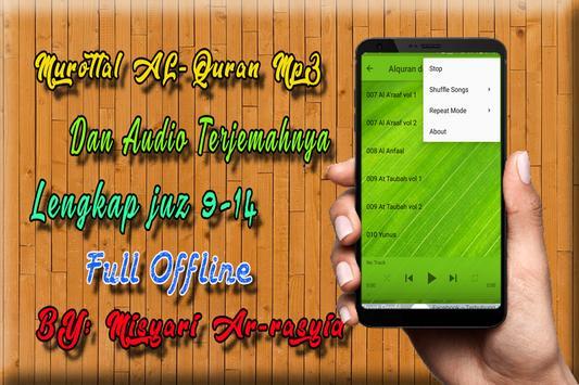 MP3 AL Quran Dan Terjemahan Offline screenshot 3