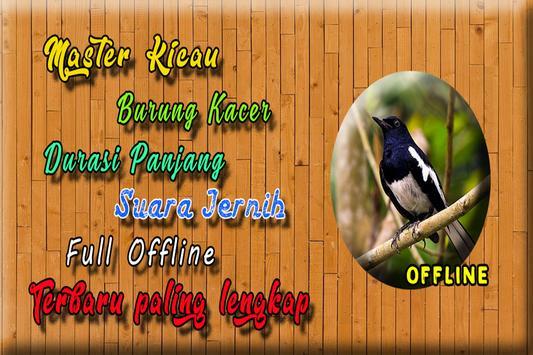 Suara Burung Kacer Full Isian MP3 poster