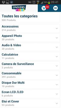 UniversPromo par NSSConsulting screenshot 2