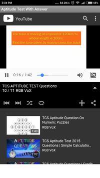 Aptitude Test With Answer screenshot 4