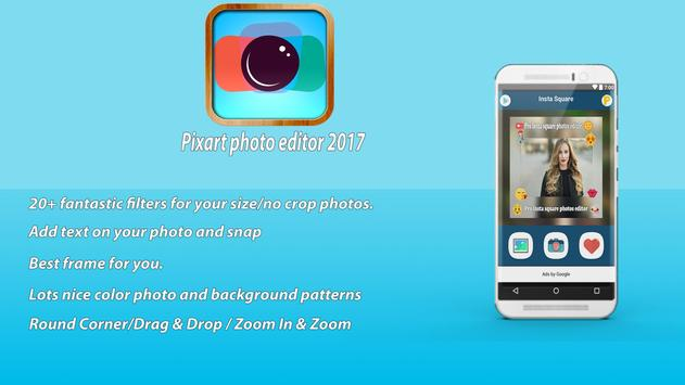 Pixart photo editor 2017 poster
