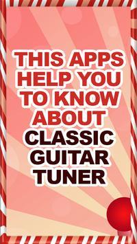 Classic Guitar Tuner Help 포스터
