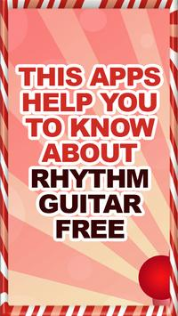 Rhythm Guitar Free Help poster