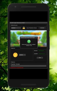 Ultimate Cheats For Gardenscapes prank screenshot 2