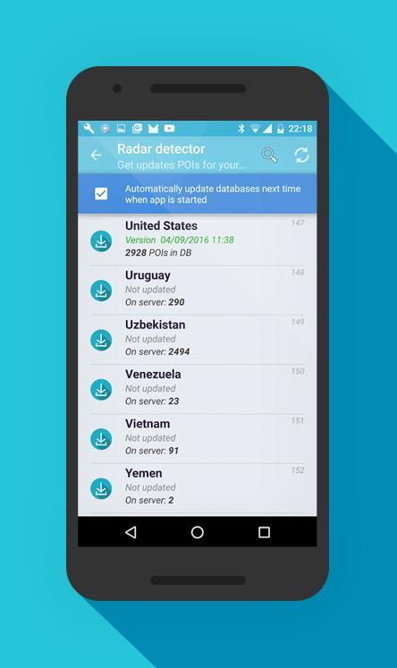 Radar Detector App >> Radar Detector For Android Apk Download