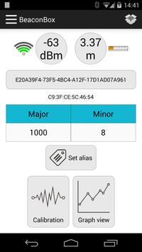 BeaconBox - iBeacon scanner apk screenshot