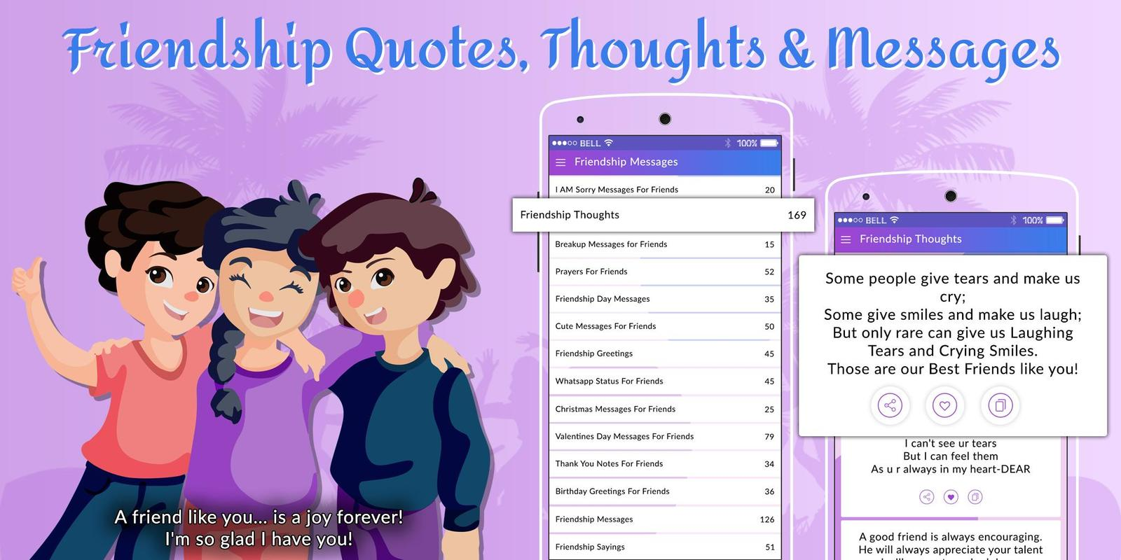Friendship Quotes Thoughts Messages For Android Apk Download