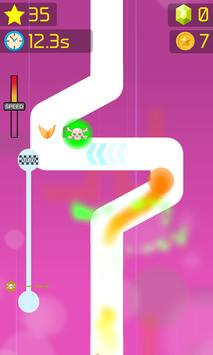 Follow the Line Duel 2D Deluxe apk screenshot