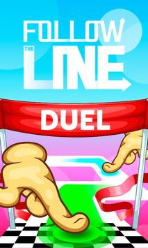Follow the Line Duel 2D Deluxe poster