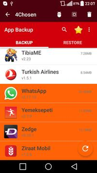 Application Backup & Restore screenshot 14