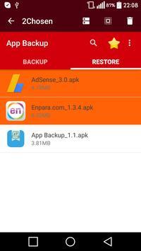 Application Backup & Restore screenshot 16
