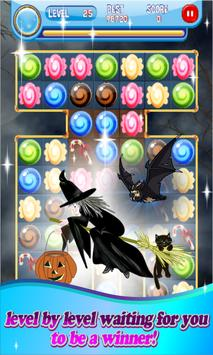 Candy Crumble Sweet Halloween apk screenshot
