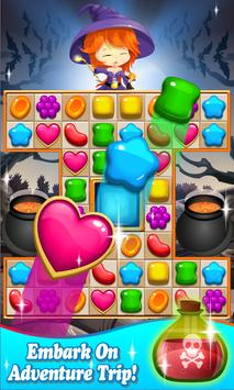 Candy Witch Halloween Legend apk screenshot