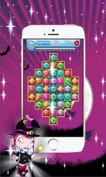 Halloween Jewel Crush Legend 2 apk screenshot