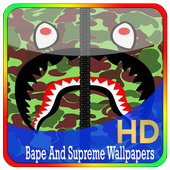 Bape And Supreme Wallpapers icon