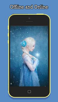 Frozen Wallpapers of Elsa apk screenshot