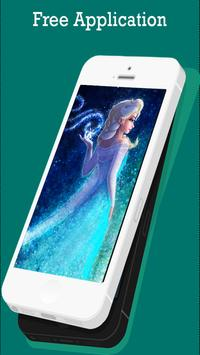 Frozen Wallpapers of Elsa poster