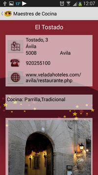 Maestres de Cocina apk screenshot