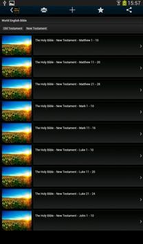 The Holy Bible - Audiobook apk screenshot