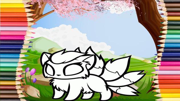 Coloring Chibi screenshot 3