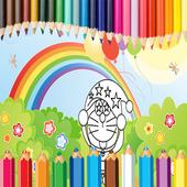 Coloring Dora Emon icon