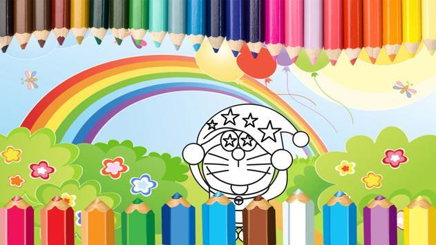Coloring Dora Emon screenshot 3